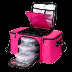 Prozis BeFit Bag Pink Фитнес Чанта за храна
