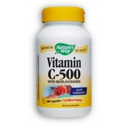 Nature's Way Vitamin C-500 with Bioflavonoids | 100 caps