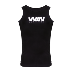 Win Sleeveless T-Shirt Black