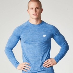 Myprotein Men's Long Sleeve Top Blue