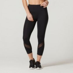 Myprotein Women's Core Cropped Leggings Black
