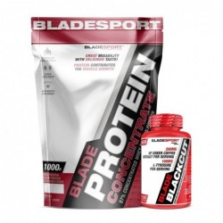 Blade Protein Concentrate + Blade Blackcut | 1.000kg + 100 caps