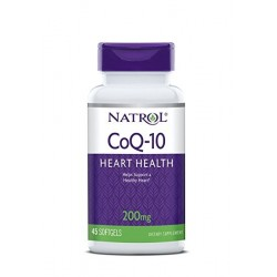 Natrol CoQ-10 200mg | 45 sgels