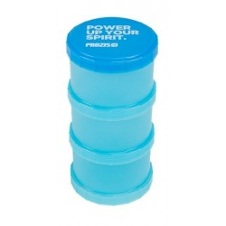 Prozis Powder Container Blue Power Up Your Spirit | 3 x 180ml