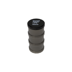 Prozis Powder Container Black Shape Your Life | 3 x 180ml