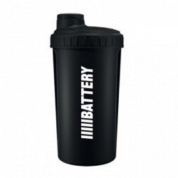 Battery Nutrition Shaker Black