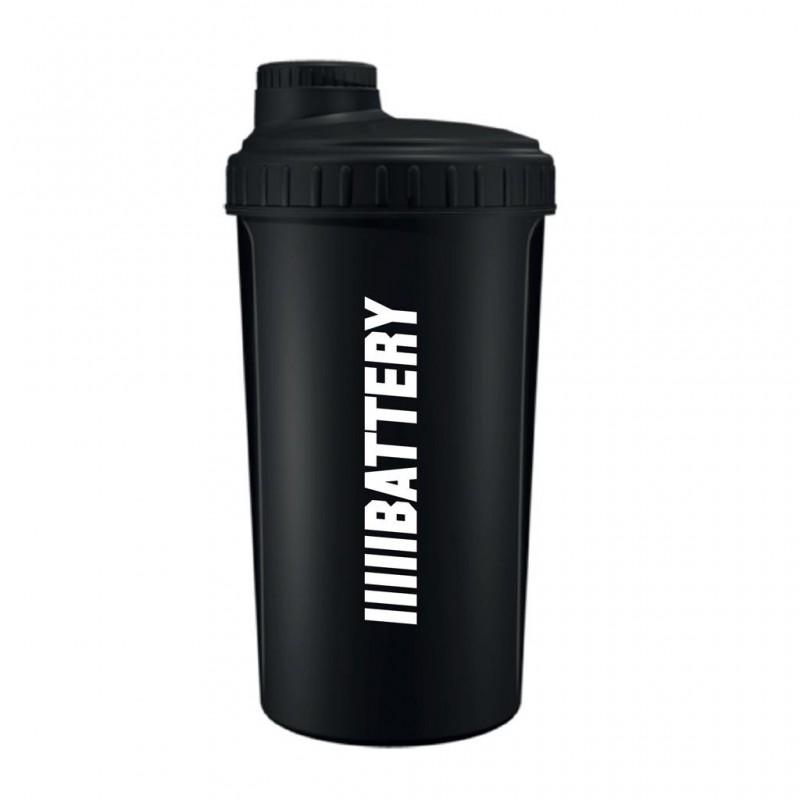 Battery Nutrition Shaker Black