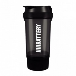 Battery Nutrition Shaker Plus Black
