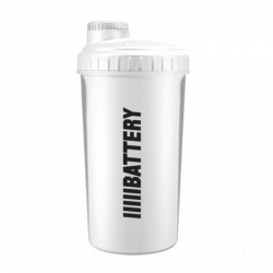 Battery Nutrition Shaker White | 700ml