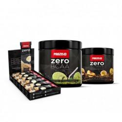 Комбо Оферта - Prozis Zero BCAA, Glutamine, Protein Bar | 0.150kg + 0.150kg + 12 x 35g