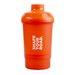Prozis Nano Shaker Orange - Shape Your Road | 300ml + 150ml