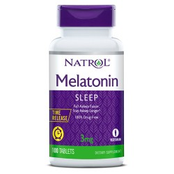 Natrol Melatonin Time Release 3mg