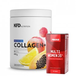 KFD Premium Collagen + Prozis Multi Women 35+