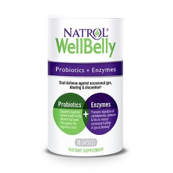 Natrol Well Belly Probiotics + Enzymes