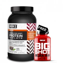 MRI Hydrlized Whey Protein Isolate + Prozis Big Shot BCAA 8:1:1 FREE