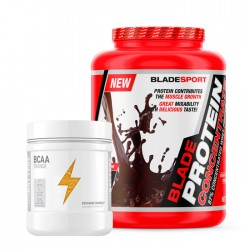 Blade Protein Concentrate + Battery BCAA