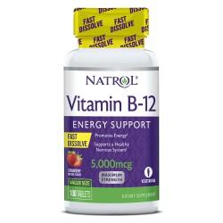 Natrol Vitamin B-12 Fast Dissolve 5000mcg