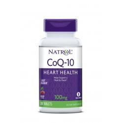 Natrol CoQ-10 Fast Dissolve 100mg | 30 tabs
