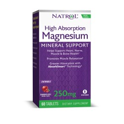 Natrol Magnesium - High Absorption | 60 tabs
