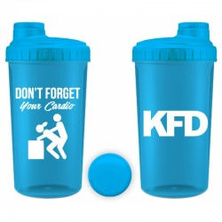 KFD Shaker - Don`t Forget Your Cardio | 700ml