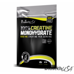 Biotech USA 100% Creatine Monohydrate 0.500kg BAG | 0.500kg