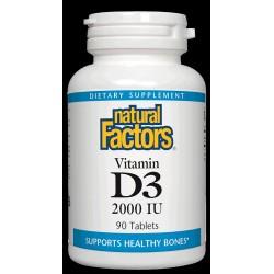 Natural Factors Vitamin D3 2000IU
