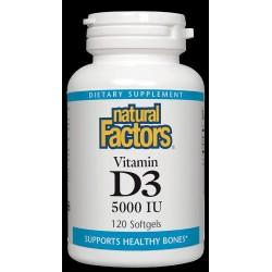 Natural Factors Vitamin D3 5000IU