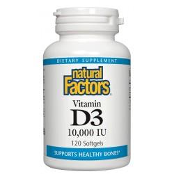 Natural Factors Vitamin D3 10000IU