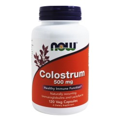NOW Colostrum 500mg | 120 caps