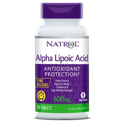 Natrol Alpha Lipoic Acid Time Release 600mg