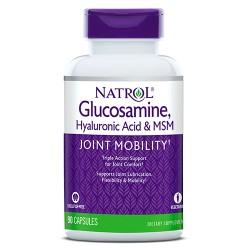 Natrol Glucosamine, Hyaluronic Acid & MSM | 90 caps