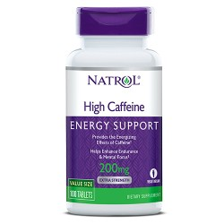 Natrol High Caffeine 200mg
