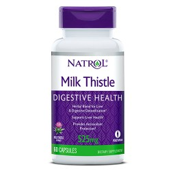 Natrol Milk Thistle Advantage 525mg | 60 tabs