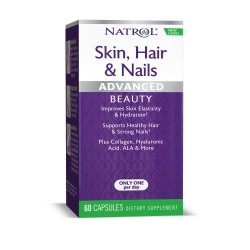 Natrol Skin Hair Nails + Collagen