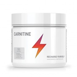 Battery Nutrition Carnitine 1000mg | 180 caps