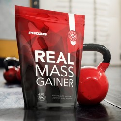Prozis Real Mass Gainer Chocolate | 2.722kg