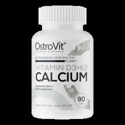 Ostrovit Vitamin D3 2000 + K2 100mcg + Calcium | 90 tabs