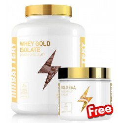 1+1 FREE - Battery Whey Gold Isolate + Battery Gold EAA