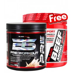 1+1 FREE - Blade Pre-Workout + Blade Beef Amino 6800