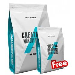1+1 FREE - Myprotein Creatine + Myprotein HMB