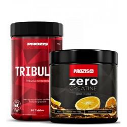 1+1 - Prozis Zero Creatine + Prozis Tribulus