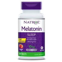 Natrol Melatonin Fast Dissolve 10mg | 60 tabs