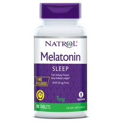 Natrol Melatonin Time Release 1mg | 90 tabs