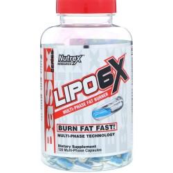 NUTREX Lipo 6x   120 caps