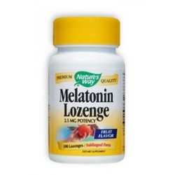 Nature's Way Melatonin Lozenge | 100 tabs