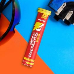 Prozis Energy Electrolytes + Caffeine - Effervescent tabs | 20 ефервесцентни таблетки