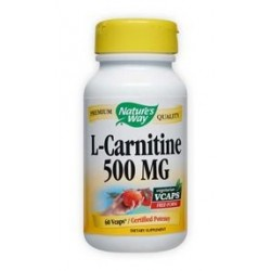 Nature\'s Way L-Carnitine 500mg | 60 vcaps