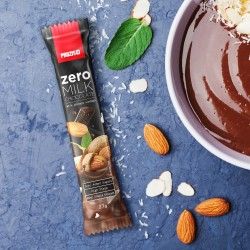 Prozis Zero Milk Chocolate with Almonds | 27g