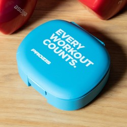 Prozis Pillbox Blue - Every Workout Counts