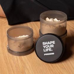 Prozis Powder Container Black Shape Your Life | 3 x 180ml